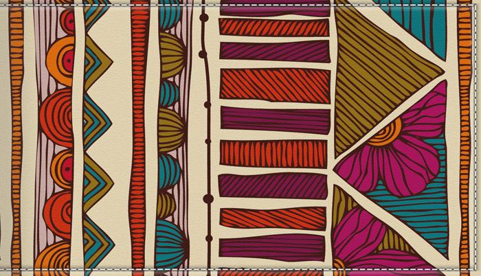 Визитница женская КвикДекор, цвет: мультиколор. DC-17-0083-1-18ERJAA03224-WBT0Оригинальная женская визитница КвикДекор изготовлена из экокожи. Предназначена для дисконтных и кредитных карт, имеет 18 кармашков. Изображение выполнено качественно и устойчиво к стиранию. Удобная выемка на пластиковом кармане позволяет быстро и легко достать необходимую карту. Яркий принт выполнен художником Валентиной Рамос (MGL).