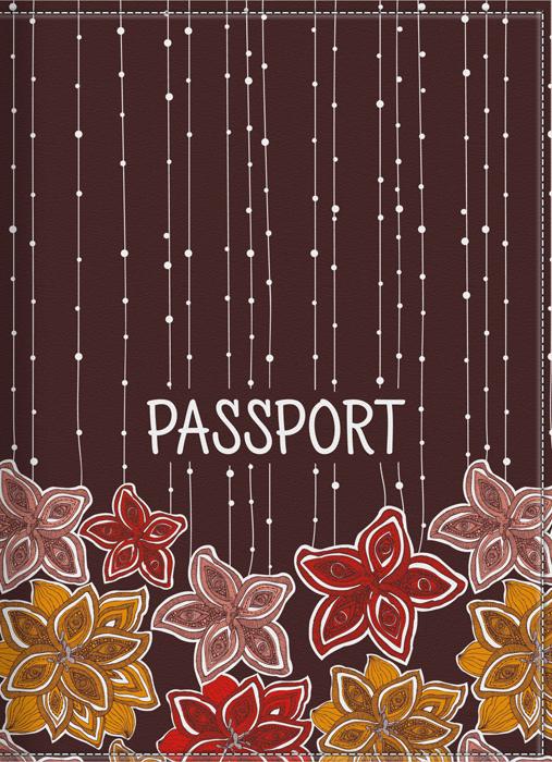 Обложка для паспорта женская КвикДекор, цвет: коричневый. DC-17-0075-1-1GPGE00-000000-FG808O-K100Оригинальная женская обложка для паспорта КвикДекор изготовлена из качественной экокожи. Подходит для всех видов паспортов, как общегражданских, так и заграничных. Изображение устойчиво к стиранию. Изделие раскладывается пополам.Яркий современный дизайн выполнен художником Валентиной Рамос (MGL).