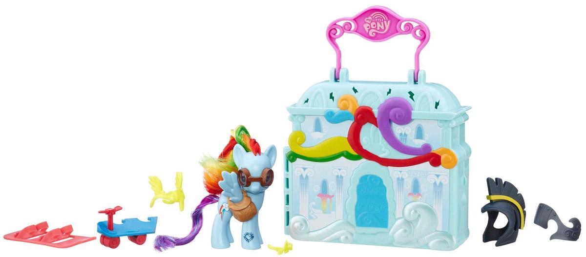 My Little Pony Игровой набор Cloudominium Rainbow Dash хасбро hаsbro b3604 b8074 my little pony игровой мейнхеттен rainbow dash