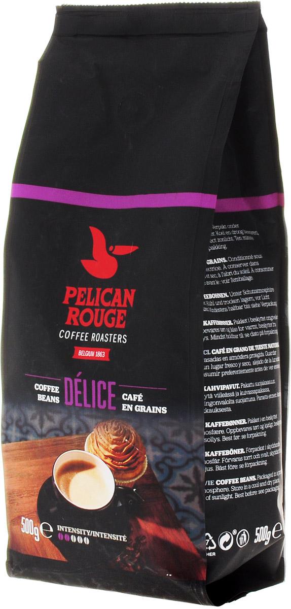 Pelican Rouge Delice кофе в зернах, 500 г0120710Кофе в зернах Pelican Rouge Delice средней обжарки с легким цветочным ароматом, вкусом спелых ягод и долгим приятным послевкусием пряностей. Идеально подходит для приготовления эспрессо, капучино и кофейных напитков с молоком.