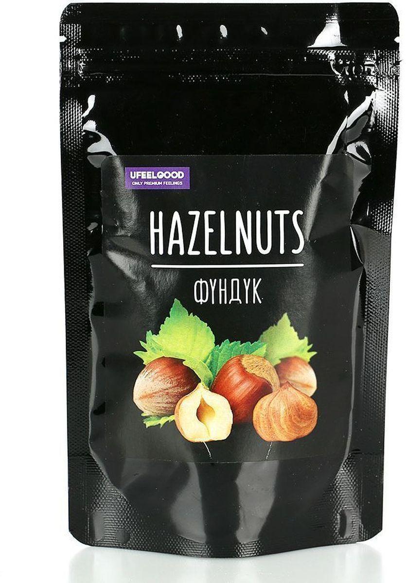 UFEELGOOD Hazelnuts фундук очищенный, 90 г0120710Фундук обладает замечательными лечебными и питательными свойствами. В ядрах фундука содержится около 60% масла, состоящего из глицеридов олеиновой, стеариновой и пальмитиновой кислот, которые препятствуют росту холестерина в крови, защищают от сосудистых заболеваний. А также крайне необходимы для растущего организма. Лесной орех также характеризуется высоким содержанием белка (15-20%), витамина Е, минеральных веществ: калия, железа, кобальта. Фундук богат питательными веществами, по калорийности он превосходит в 2-3 раза хлеб, в 8 раз молоко, а также шоколад.