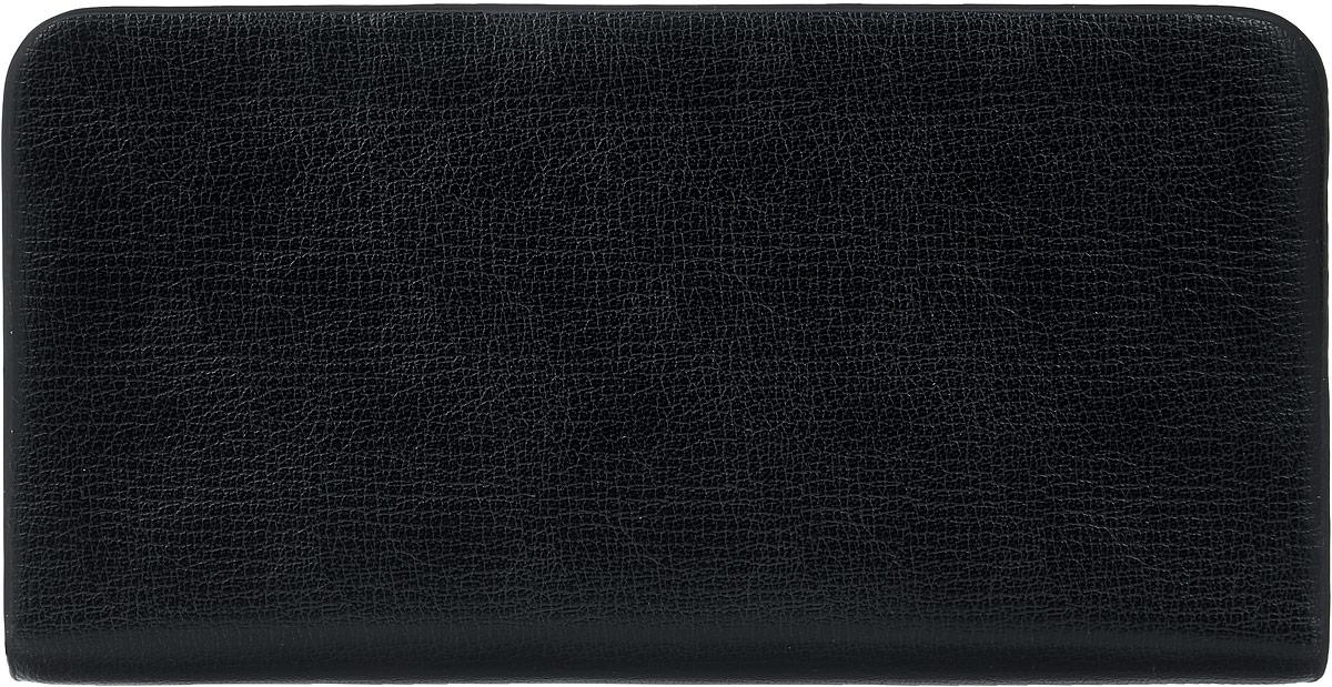 Кошелек мужской Leighton, цвет: черный. 0803-6W16-12123_811Мужской кошелек Leighton выполнен из искусственной кожи. Закрывается изделие на застежку-молнию. Внутри модель имеет три отделения для купюр, карман для мелочи на молнии, двенадцать карманов для пластиковых карт.