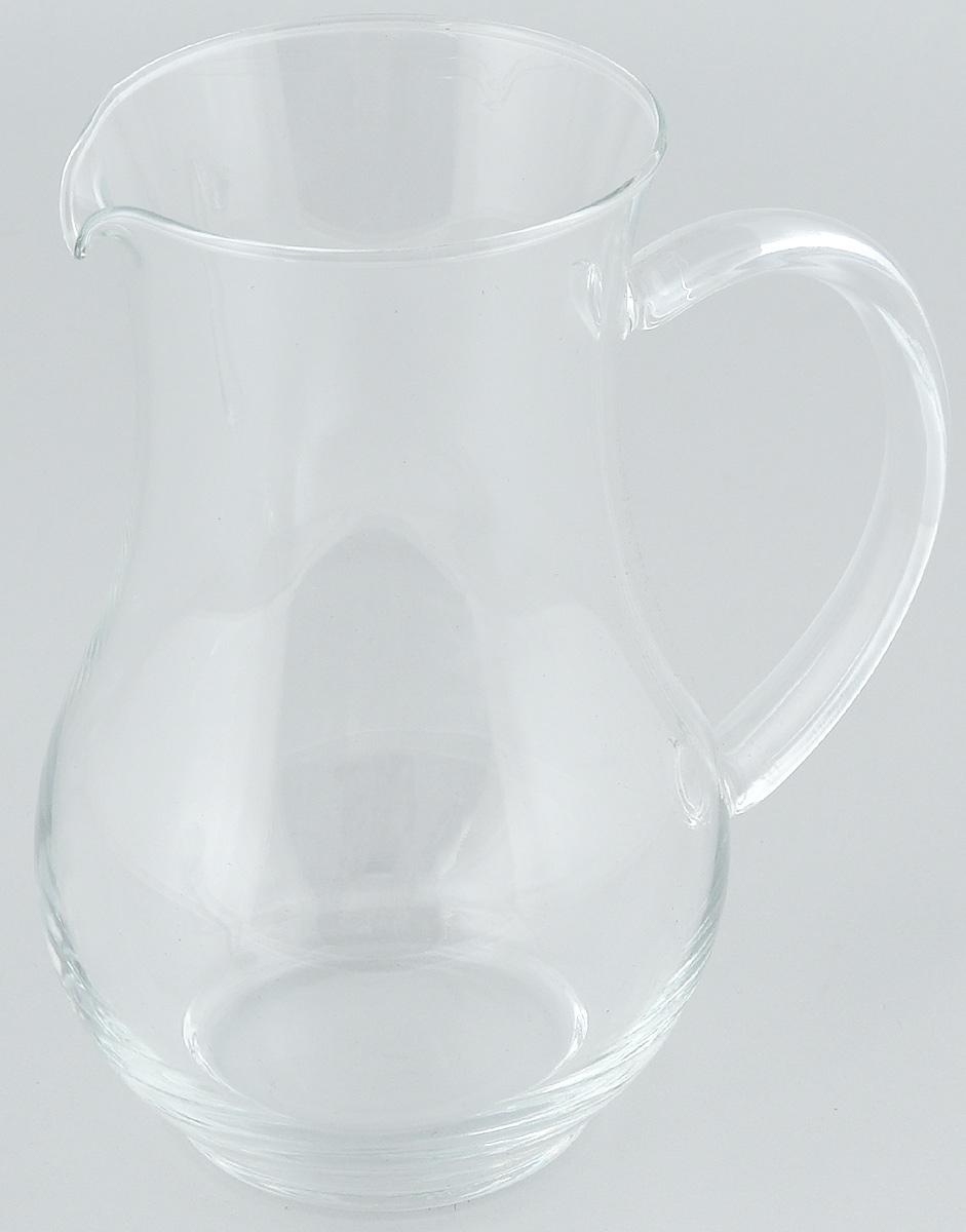 Кувшин Luminarc Pichet, 1,3 л1750100Кувшин Luminarc Pichet, выполненный из высококачественного стекла, оснащен эргономичной ручкой. В нем будет удобно хранить и подавать на стол молоко, соки или воду.Кувшин Luminarc Pichet украсит любой кухонный интерьер и станет хорошим подарком для ваших близких. Диаметр кувшина (по верхнему краю): 10 см. Высота: 20 см.