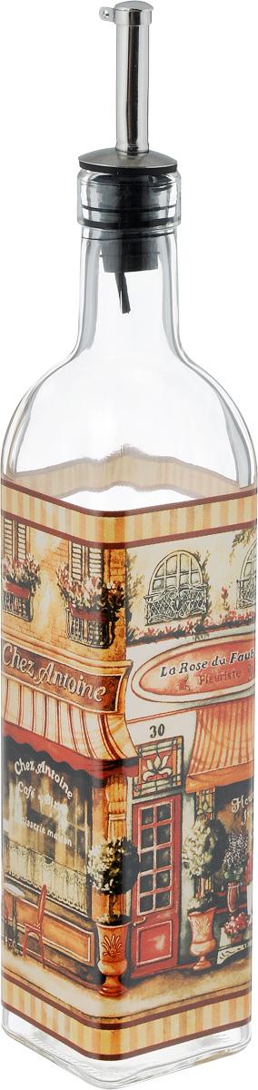Бутылка для масла и уксуса SinoGlass Бутик, 500 мл4630003364517Бутылка для масла и уксуса SinoGlass Бутик, выполненная из стекла, украсит любую кухню. Металлическая крышка с носиком снабжена клапаном антикапля, не допускающим пролива. Стенки бутылки прозрачные, поэтому вы с легкостью можете видеть содержимое.Оригинальная бутылка будет отлично смотреться на вашей кухне.Объем: 500 мл.Размер основания: 5,5 х 5,5 см.Высота бутылки: 31 см.