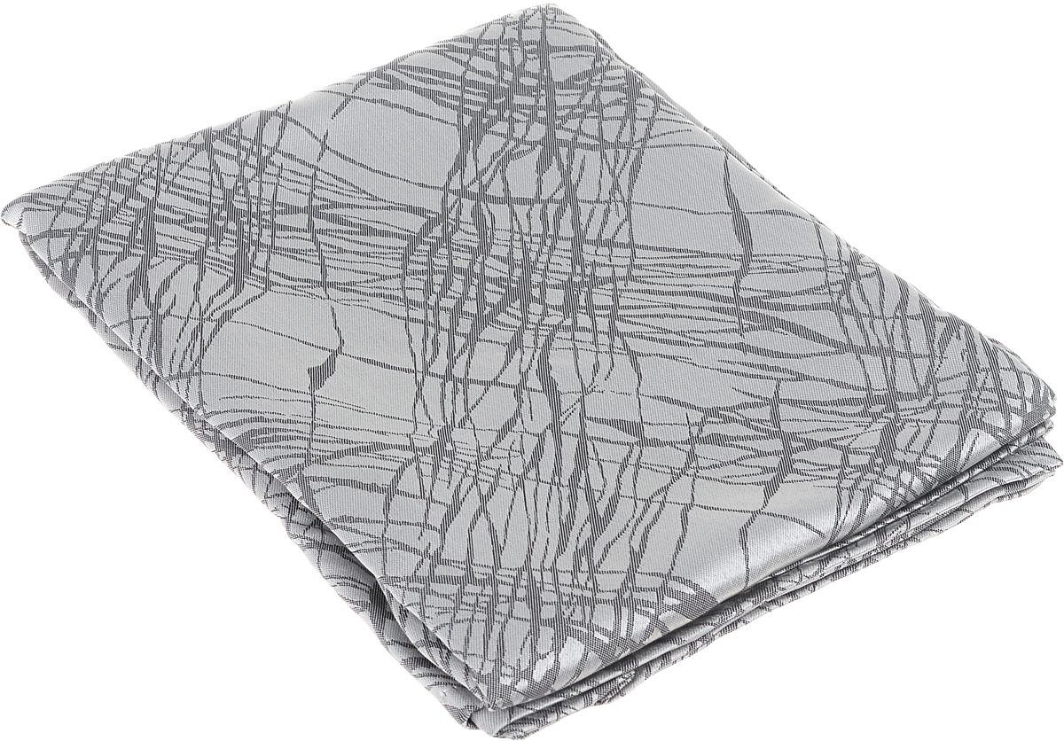 Скатерть Schaefer, квадратная, цвет: серебристый, серый, 150 х 150 см. 07814-416SVC-300Квадратная скатерть Schaefer, выполненная из полиэстера с оригинальным рисунком, станет изысканным украшением кухонного стола. За текстилем из полиэстера очень легко ухаживать: он не мнется, не садится и быстро сохнет, легко стирается, более долговечен, чем текстиль из натуральных волокон.Использование такой скатерти сделает застолье торжественным, поднимет настроение гостей и приятно удивит их вашим изысканным вкусом. Также вы можете использовать эту скатерть для повседневной трапезы, превратив каждый прием пищи в волшебный праздник и веселье. Это текстильное изделие станет изысканным украшением вашего дома!