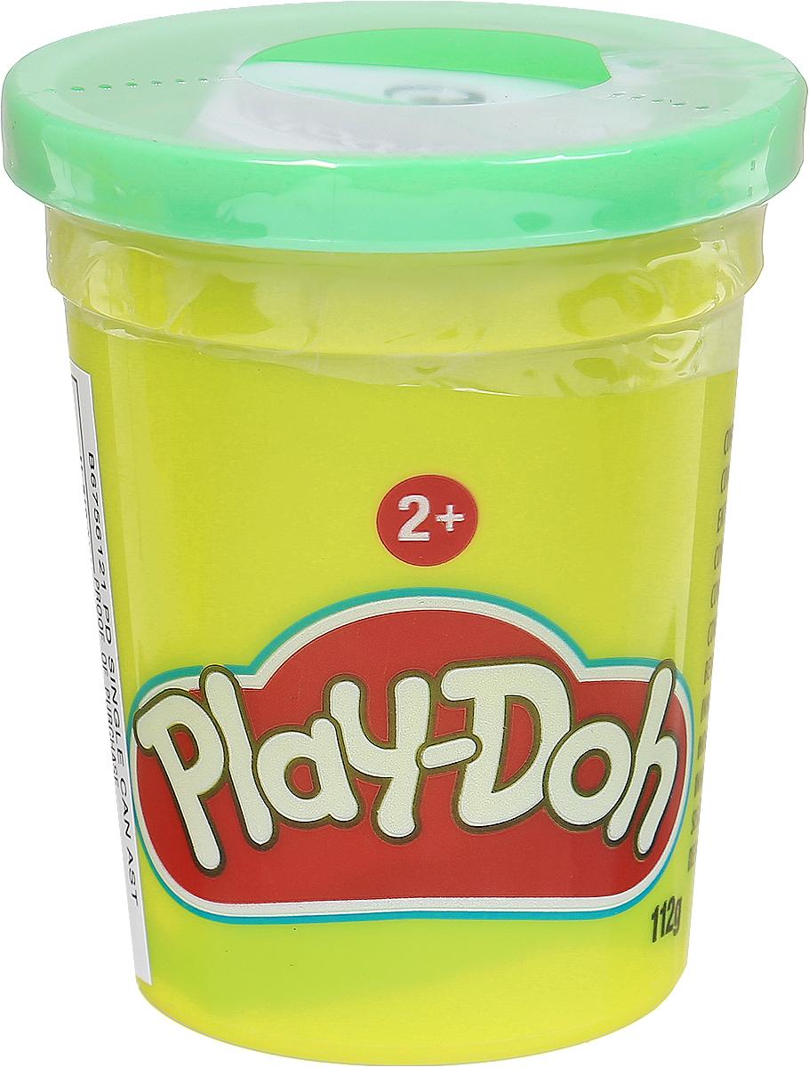 Play-Doh Пластилин цвет салатовый 112 г72523WDПластилин Play-Doh, предназначенный для лепки и моделирования, поможет ребенку развить творческие способности, воображение и мелкую моторику рук. Пластилин яркого насыщенного цвета упакован в баночку, плотно закрывающуюся крышкой.Play-Doh - король пластилина! Этот уникальный материал для детского творчества давно стал любимой развивающей игрушкой для малышей во всем мире. Мягкий пластилин Play-Doh дарит детям радость творчества, а родителям - уверенность, что ребенок получает новые знания самым безопасным способом. Лепить из пластилина, который не прилипает к рукам, одно удовольствие! Пластилин окрашен безопасным красителем, быстро высыхает и не имеет запаха.