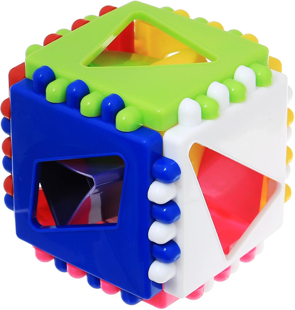 Stellar Развивающая игра-сортер Логический кубик 01314
