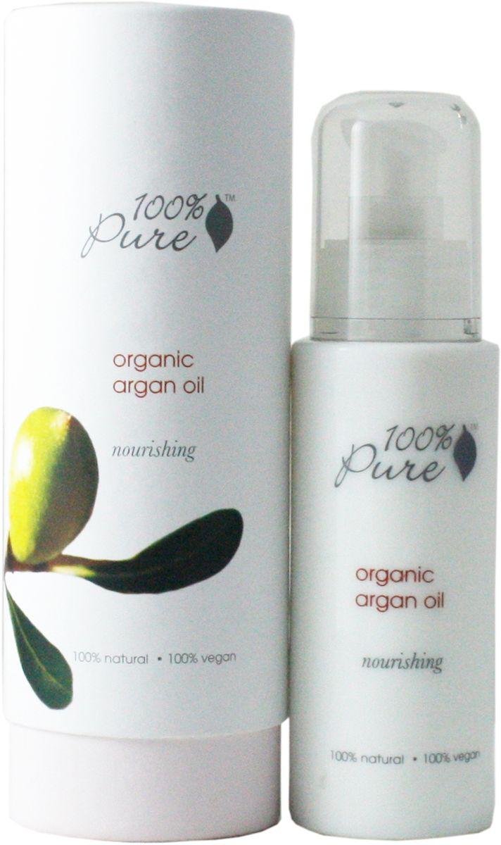 100% Pure Чистое 100% органическое аргановое масло, 50 мл39661014100% чистое органическое аргановое масло богато витамином Е, каротинами, скваленом и жирными кислотами, которые глубоко увлажняют, питают, смягчают и восстанавливают кожу. Аргановое масло благотворно влияет на кожу лица и тела, и незаменимо для ухода за кожей вокруг глаз, шеи, груди, рук и даже волос .
