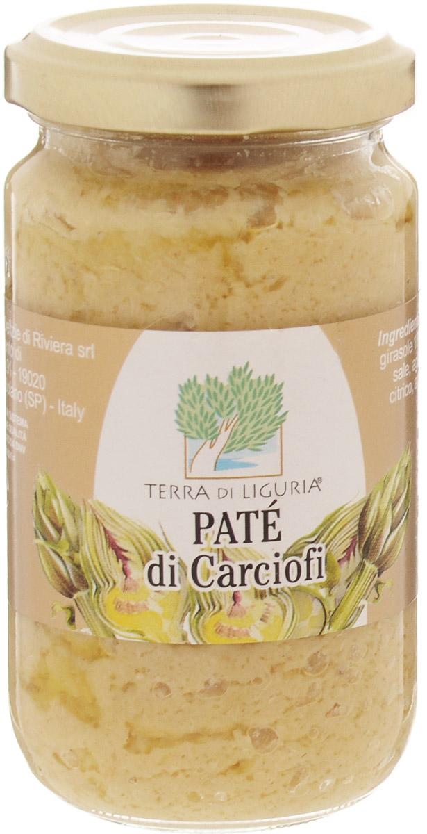Terra di Liguria паштет из артишоков, 180 г616Паштет из артишоков Terra Di Liguria применяется как самостоятельная закуска с хрустящим итальянским хлебом, а также в составе различных заправок для салатов и паст. Часто применяют в составе кремов для холодных закусок.
