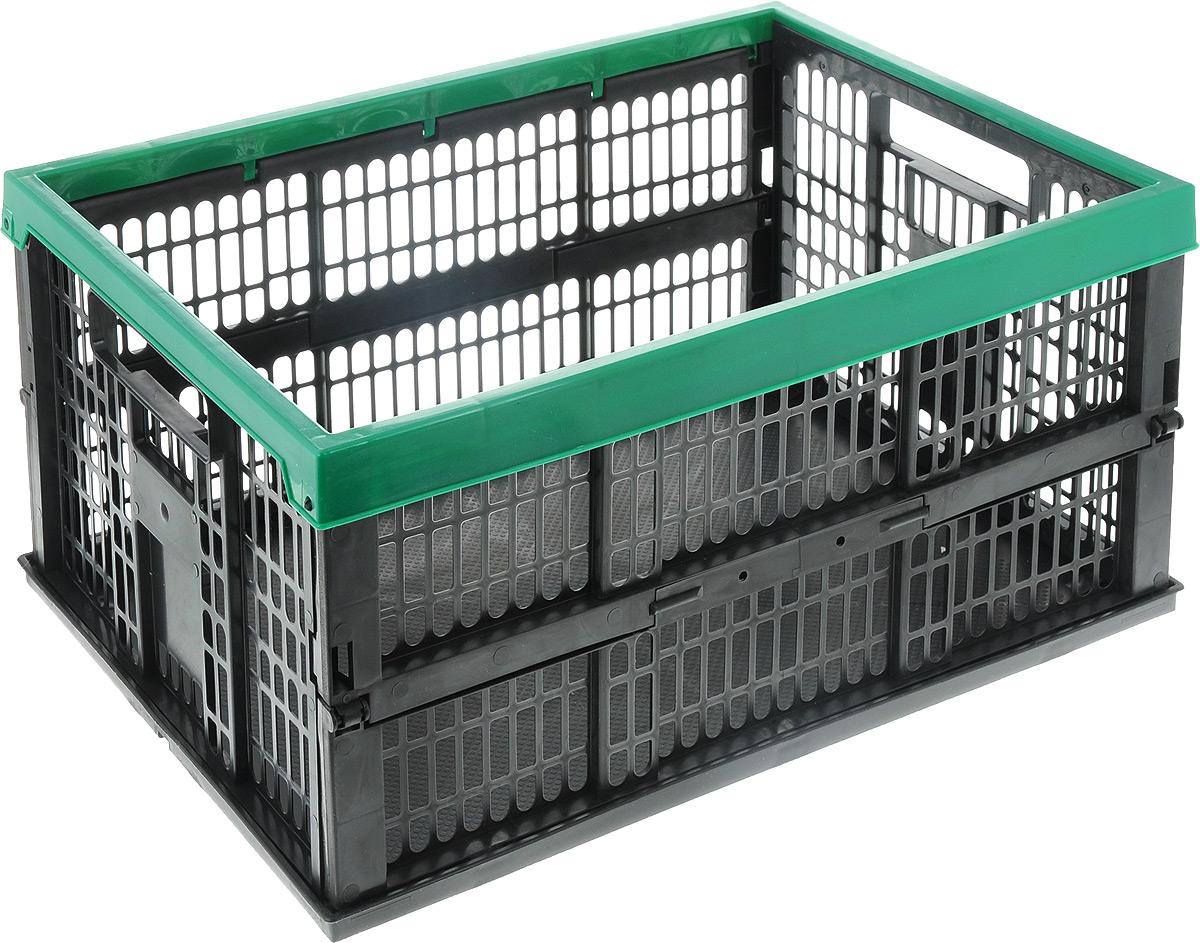 Ящик-органайзер автомобильный Rexxon, складной, 48 х 35 х 23 см1004900000360Автомобильный ящик-органайзер Rexxon - это лучшее решение для компактной транспортировки автопринадлежностей и различной продукции в багажнике автомобиля. Это позволит организовать пространство в автомобиле и гараже. Изделие выполнено из высококачественного пластика и имеет складную конструкцию.Емкость ящика: 38 л.Весовая нагрузка: 20 кг.Размер изделия в складном виде: 48 х 35 х 5,5 см.