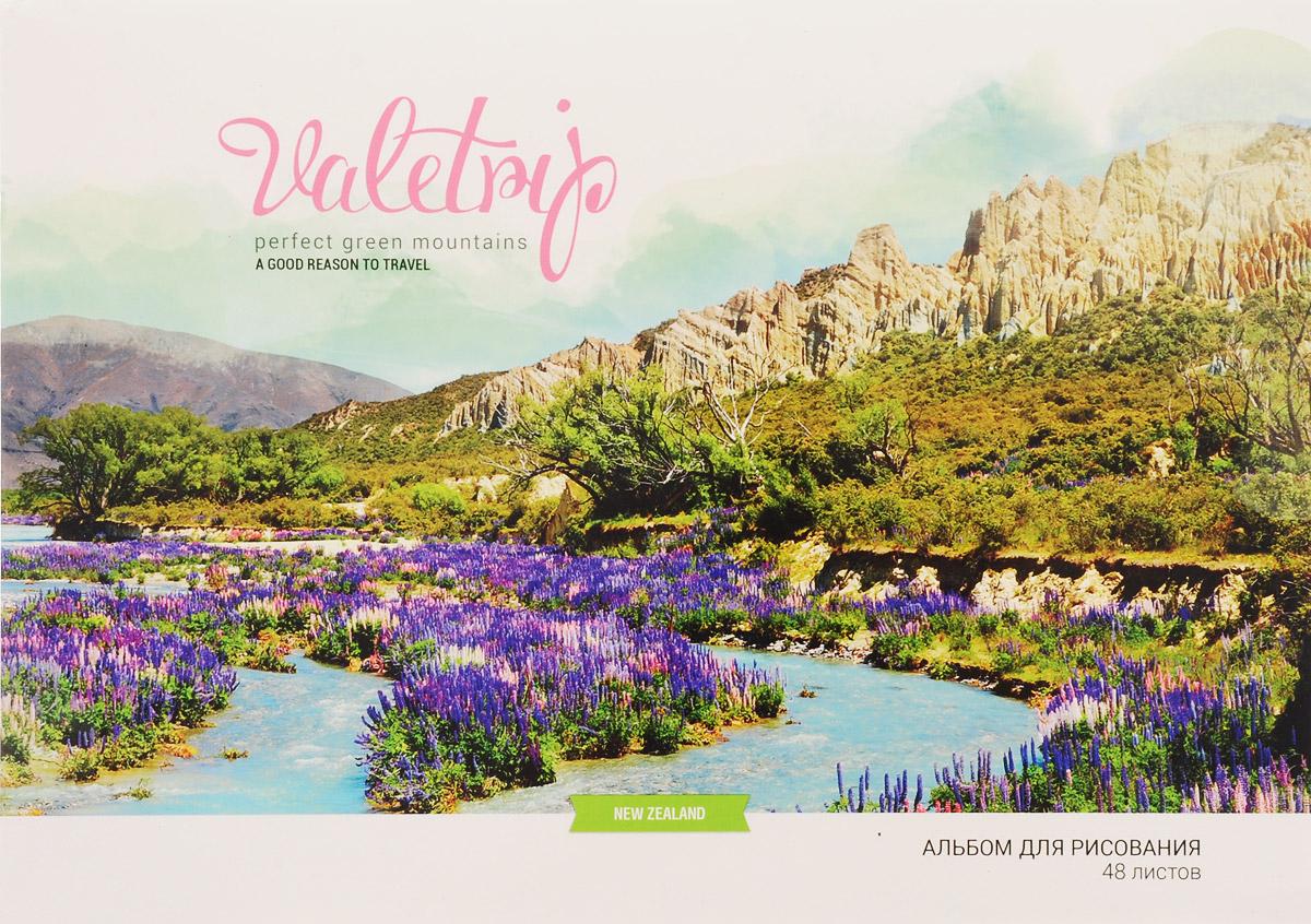 ArtSpace Альбом для рисования Romantic Places Новая Зеландия 48 листов72523WDАльбом ArtSpace Romantic Places Новая Зеландия подходит для рисования различными типами красок, фломастерами, цветными и черно-графитными карандашами, гелевыми ручками.Он имеет формат А4 и состоит из 48 листов бумаги с типом скрепления - склейка. На обложке, изготовленной из картона, изображена дикая природа в Новой Зеландии. Занимаясь изобразительным творчеством, ребенок тренирует мелкую моторику рук, становится более усидчивым и спокойным.