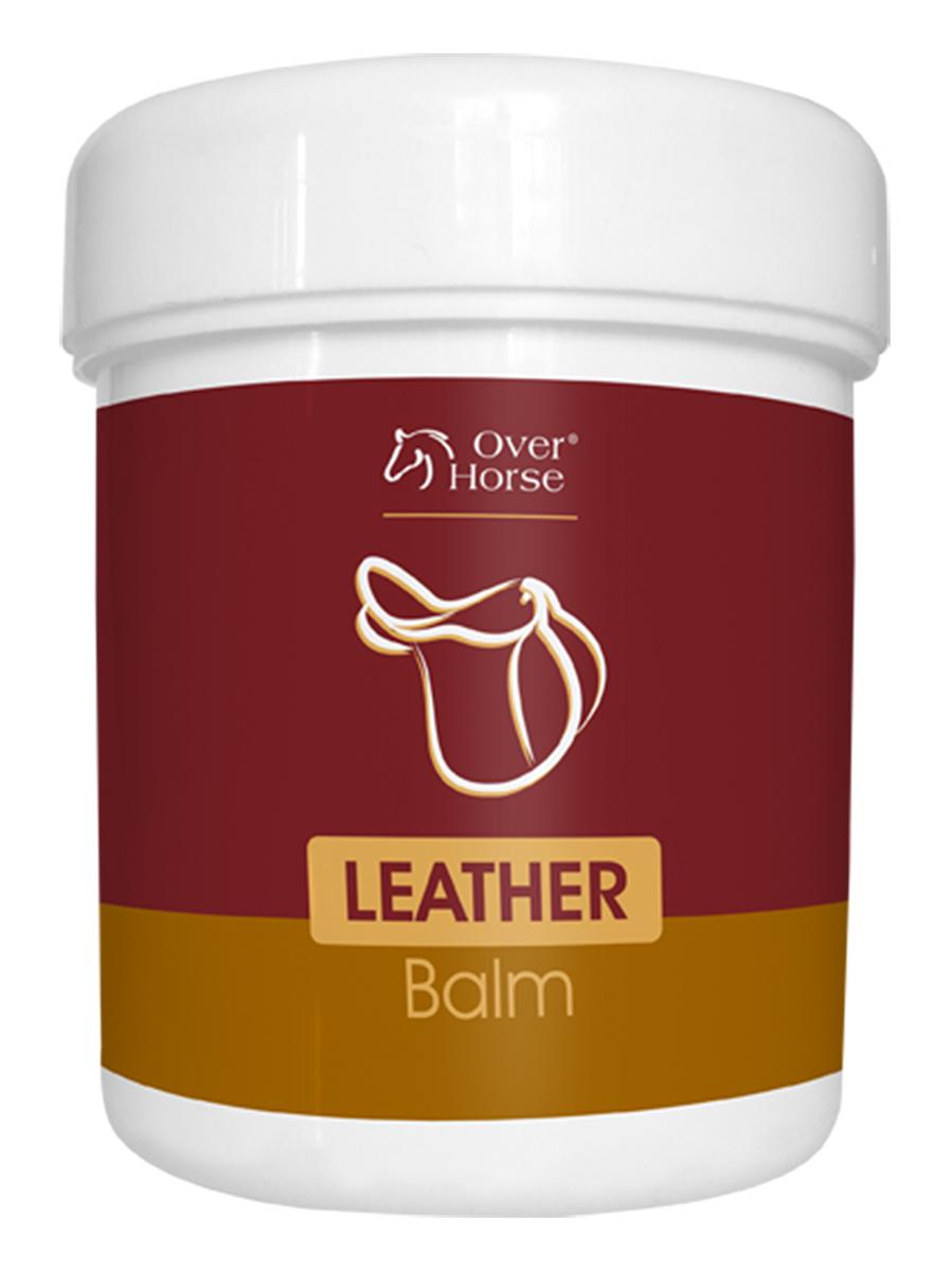 Бальзам Over Horse Leather Balm, для ухода за кожаной амуницией, обувью, 450 мл5900232786374Высококачественный бальзам Over Horse Leather Balm для ухода за кожаной амуницией, обувью. Питает кожу и придает ей эластичность при этом не обесцвечивает кожу. Способ применения: нанести на чистую, сухую кожу, бережно протереть губкой или мягкой тряпкой. После высыхания отполировать сухой тряпкой.Товар сертифицирован.