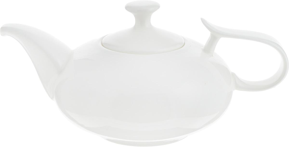 Чайник заварочный Wilmax, 450 мл. WL-994001 / 1CVT-1520(SR)Заварочный чайник Wilmax изготовлен из высококачественного фарфора. Глазурованное покрытие обеспечивает легкую очистку. Изделие прекрасно подходит для заваривания вкусного и ароматного чая, а также травяных настоев.Оригинальный дизайн сделает чайник настоящим украшениемстола. Можно мыть в посудомоечной машине ииспользовать в микроволновой печи. Диаметр чайника (по верхнему краю): 5,7 см. Высота чайника (без учета крышки): 6,5 см.