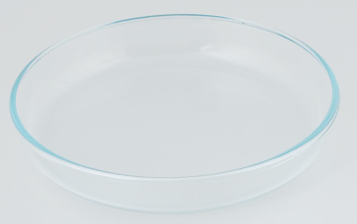 Форма для выпечки VGP, диаметр 26 см391602Форма для выпечки VGP изготовлена из термостойкого и экологически чистого стекла и применяется для приготовления пищи в духовке, жарочном шкафу и микроволновой печи. Изделие пригодно для хранения и замораживания различных продуктов, а также для сервировки и декоративного оформления. Форма круглая, удобна для приготовления пирогов, кексов и другой выпечки. Можно мыть в посудомоечной машине, ставить в холодильник и морозильную камеру. Диаметр формы: 26 см. Высота стенки: 4,5 см.