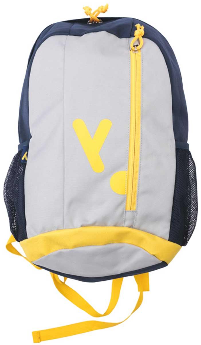 Рюкзак для мальчика PlayToday, цвет: черный, серый , желтый. 171751721705R881Удобный рюкзак выполнен из полиэстера. Передняя стенка дополнена карманом на молнии, боковые стороны - сетчатыми карманами. Внутри дополнительный вкладной мешок, в который можно класть обувь. Плечевые лямки регулируемые по длине.