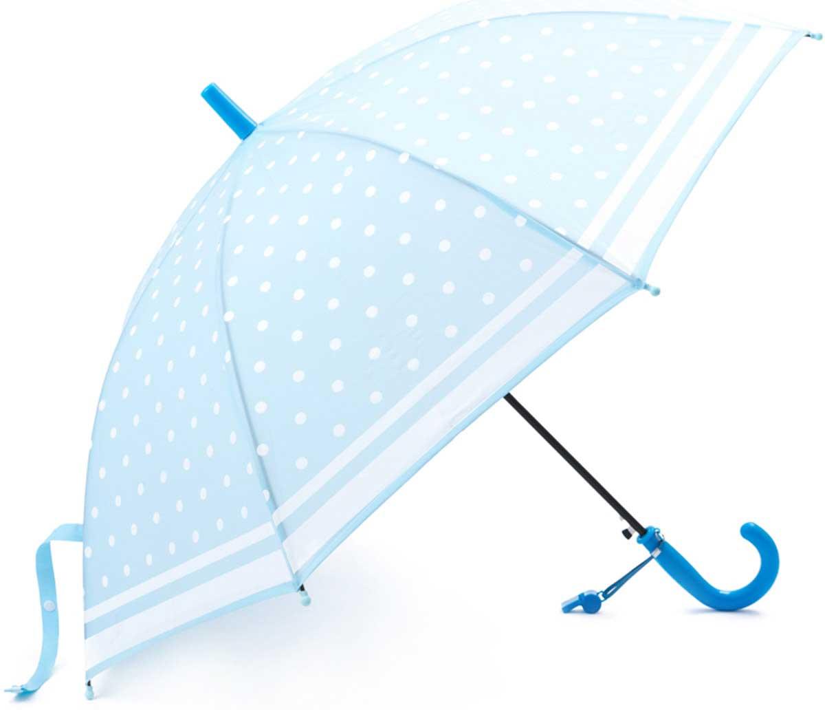 Зонт для девочки PlayToday, цвет: голубой. 172701. Размер 48.5172071Этот яркий зонтик обязательно понравится Вашему ребенку! Оснащен специальной безопасной системой открывания и закрывания. Материал каркаса ветроустойчивый. Концы спиц снабжены пластмассовыми наконечниками для защиты от травм. Такой зонт идеально подойдет для прогулок в дождливую погоду.