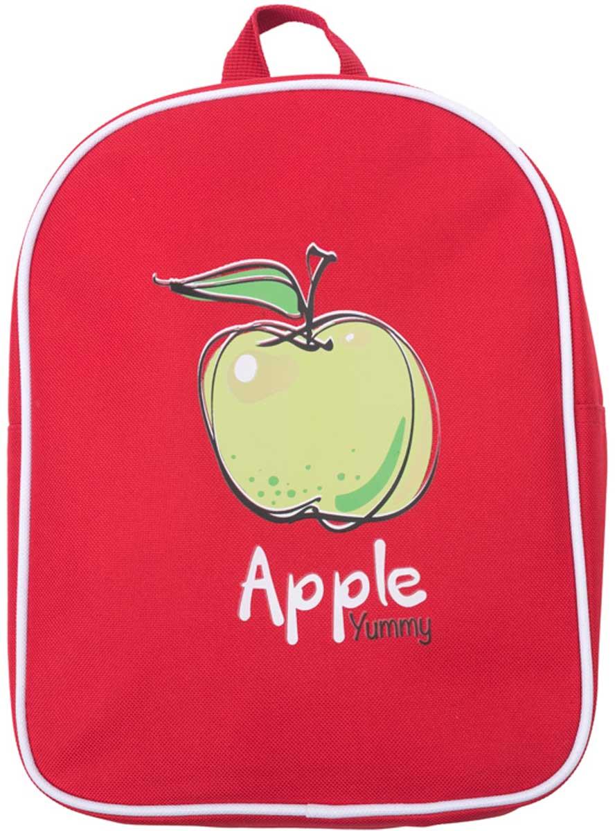 Рюкзак для девочки PlayToday, цвет: красный, зеленый. 172753172071Стильный рюкзак для девочки выполнен из полиэстера. Модель с одним отделением, застегивается на молнию. Украшен стильным принтом. Плечевые лямки регулируются по длине.