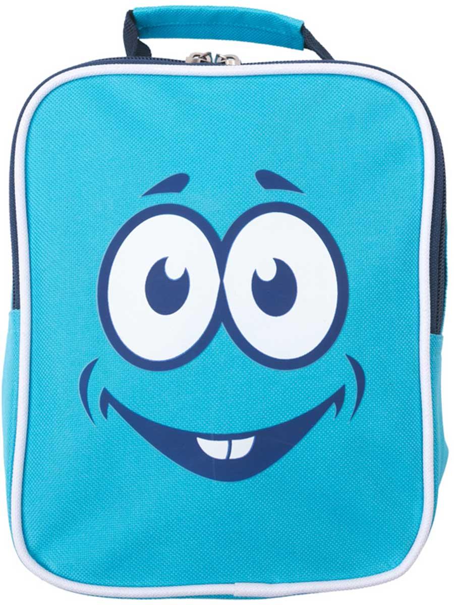 Рюкзак для мальчика PlayToday, цвет: голубой, черный, белый. 17775123008Стильный рюкзак для мальчика выполнен из полиэстера. Модель с одним отделением, застегивается на молнию. Украшен стильным принтом. Плечевые лямки регулируются по длине.