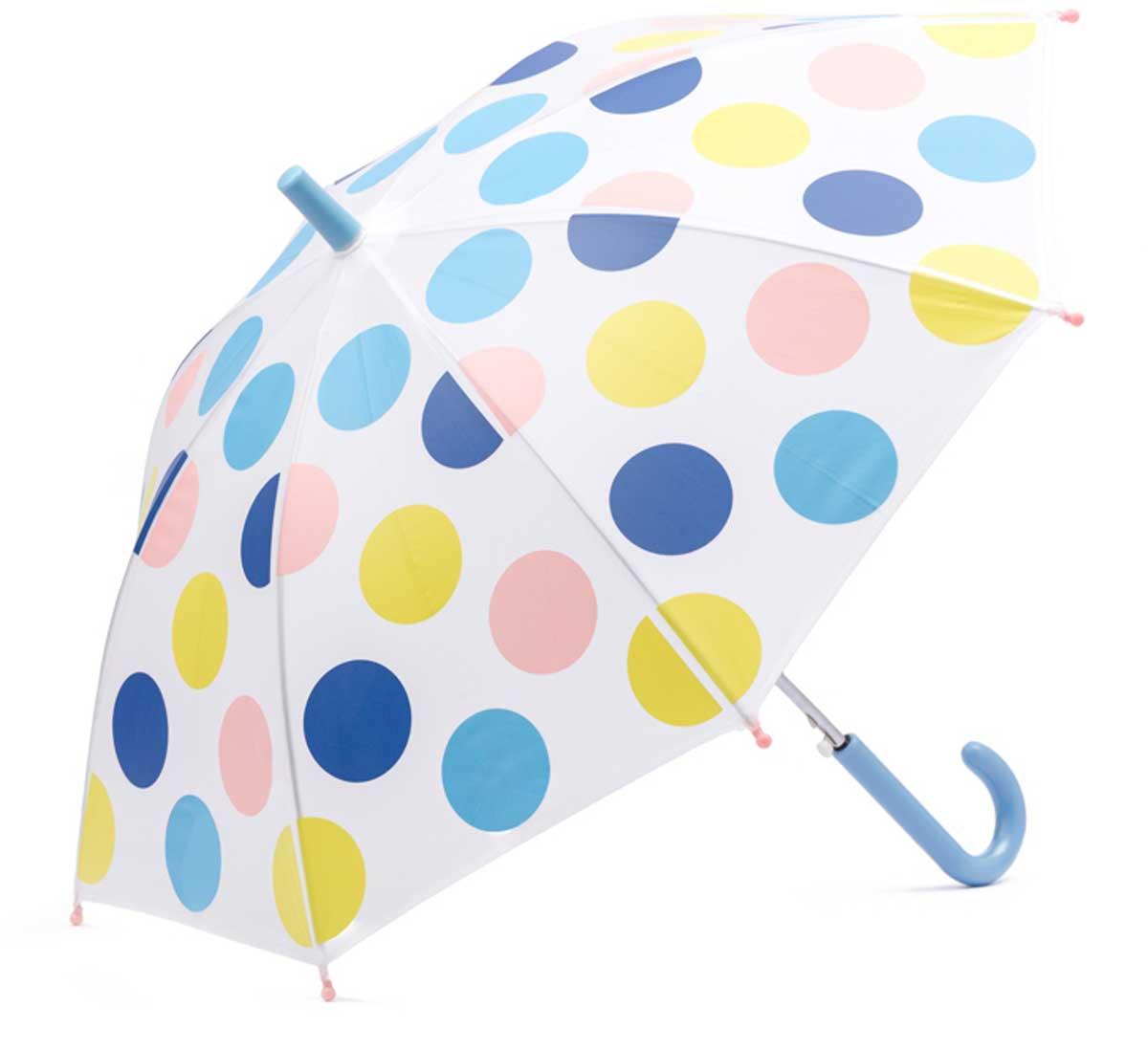 Зонт для девочки PlayToday, цвет: белый, синий, голубой, розовый, салатовый. 178702. Размер 41.5Браслет с подвескамиЭтот зонтик обязательно понравится Вашему ребенку! Оснащен специальной безопасной системой открывания и закрывания. Материал каркаса ветроустойчивый. Концы спиц снабжены пластмассовыми наконечниками для защиты от травм. Такой зонт идеально подойдет для прогулок в дождливую погоду.