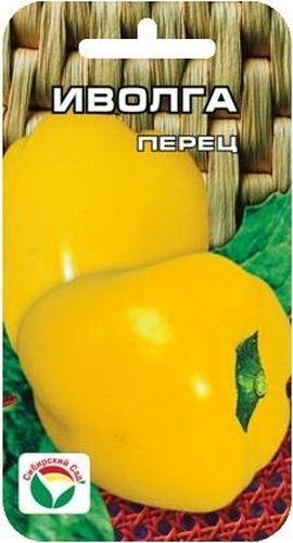 Семена Сибирский сад Перец. Иволга, 15 штBP-00000317Раннеспелый, от массовых всходов до первого сбора 112 дней. Куст полураскидистый. Положение плодов на растении вверх торчащее. Плоды светло-зеленые в технической и желто-оранжевые в биологической спелости, с толстым перикарпием, без горечи, хороших вкусовых и биохимических качеств. Сорт универсального назначения. Урожайность 6-11 кг с 1 м2. Дает хороший урожай в остекленных теплицах и в открытом грунте. Сорт хорошо реагирует на полив и подкормки комплексными минеральными удобрениями. Для ускорения процесса всхожести семян, оздоровления растений, улучшения завязываемости плодов рекомендуется использовать специально разработанные стимуляторы роста и развития растений.