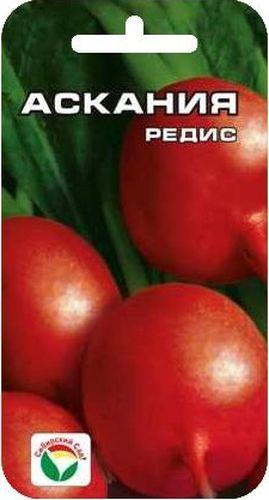 Семена Сибирский сад Редис. Аскания, 2 гBP-00000326Гулливер среди редисов! Скороспелый (срок созревания 17-23 дня), с крупными малиновыми корнеплодами более 10 см в диаметре. Не склонен к образованию пустот. Посев производят с ранней весны до конца августа в открытый грунт на глубину 1-2 см по схеме 7х7 см.Вес: 2 г.