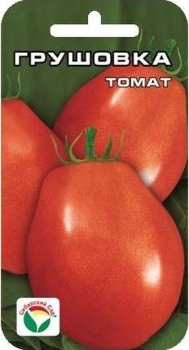 Семена Сибирский сад Томат. Грушовка, 20 штCLP446Среднеспелый, низкорослый (50-70 см), штамбовый детерминантный сорт сибирской селекции. Плоды удлиненно-овальные, массой 90-120 г (первые до 180 г). Используются в свежем виде, для цельно-плодного консервирования, длительного хранения. Сорт выращивается в 2-3 стебля без пасынкования в открытом грунте и пленочных укрытиях. Достоинства сорта: оригинальная малиновая окраска, красивая удлиненно-овальная форма, лежкость и прекрасные засолочные качества, а также нетребовательность к пасынкованию. Для ускорения процесса всхожести семян, оздоровления растений, улучшения завязываемости плодов рекомендуется пользоваться специально разработанными стимуляторами роста и развития растений.