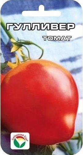 Семена Сибирский сад Томат. ГулливерBP-00000490Среднеранний сорт томата Семена Сибирский сад Томат. Гулливер доходит весом до 800 гр, красный, тип бычьего сердца, 50 см - 70 см. Низкорослый сорт для любителей вкусных крупноплодных томатов.