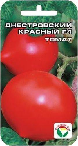 Семена Сибирский сад Томат. Днестровский красный, 15 штBP-00000611Раннеспелый (от всходов до начала созревания 90-95 дней), один из самых высокоурожайных. Куст высотой 110-120 см. Плоды крупные, округлые, с хорошо выраженным носиком. Окраска зрелого плода ярко-красная. Масса томатов 200-250 г. Все основные качества, характеризующие качество плодов (транспортабельность, товарность, вкус), достойны наивысшей оценки. При высадке в грунт на 1 м2 размещают 3-4 растения. Выращивается в 1-2 стебля с подвязкой и пасынкованием. Урожайность гибрида достигает 25 кг/м2 (до 7 кг с растения).