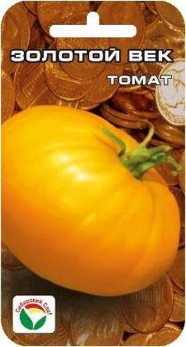 Семена Сибирский сад Томат. Золотой век, 20 штBH-SI0439-WWСреднеспелый, крупноплодный, детерминантный сорт сибирской селекции для открытого грунта и пленочных теплиц. Растение высотой до 1,4 м. Плоды оригинального лимонно-желтого цвета, плоскоокруглые, слаборебристые, ровные, массой до 400-600 г. Сорт пластичный, дает стабильный урожай в любой год. Урожайность 4-6 кг с растения. Пригоден для употребления в свежем виде, зимних заготовок и рыночных продаж. При высадке в грунт на 1 м2 размещают 3-4 растения. Выращивают в 1-2 стебля с подвязкой к опоре.