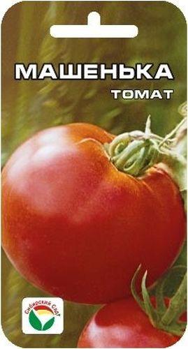 Семена Сибирский сад Томат. Машенька, 20 штBH-SI0439-WWСреднеранний сорт алтайских селекционеров. От всходов до начала созревания плодов- 96-100 дней. Сорт выделяется прекрасным видом куста высотой 1,2-1,5 м, который снизу доверху увешан красными, ровными плодами массой 250-400 г. Отличается высокой завязываемостью плодов и устойчивостью к грибковым заболеваниям томатов. Рекомендуется для выращивания в открытом грунте и под пленочными укрытиями.