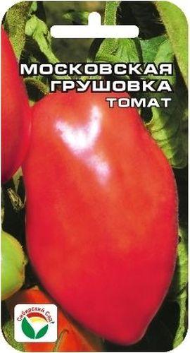 Семена Сибирский сад Томат. Московская грушовка, 20 штCAD300UBECНизкорослый, среднеспелый розовоплодный сорт для открытого грунта. Отличается хорошей урожайностью и достаточной неприхотливостью. Растение высотой до 60 см, пасынкуется только до первой кисти. В кисти формируется до 5-6 красивых грушевидных плодов розового цвета, массой 100-150 г, некоторые до 200 г. Сорт универсального назначения, вкусен как в свежем, так и в консервированном виде. Общая урожайность сорта до 3-4 кг с растения.Посев на рассаду производят за 50-60 дней до высадки растений на постоянное место. При высадке в грунт на 1 м2 размещают 5 растений. Сорт хорошо реагирует на полив и подкормки комплексными минеральными удобрениями. Выращивается с подвязкой к опоре.Для ускорения процесса всхожести семян, оздоровления растений, улучшения завязываемости плодов рекомендуется использовать специально разработанные стимуляторы роста и развития растений.