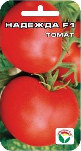 Семена Сибирский сад Томат. Надежда, 15 штCAD300UBECРастение детерминантное, высотой 100-130 см. Плоды плоскоокруглые, плотные, массой до 200 г, не растрескиваются, сохраняют товарные качества до 1,5 месяцев после сбора, очень вкусные. Гибрид обладает комплексной устойчивостью к болезням томата. Отличается стабильной урожайностью до 16-18 кг с 1 м2. Рекомендуется для выращивания в открытом грунте и пленочных теплицах.Посев на рассаду производят за 50-60 дней до высадки растений на постоянное место. При высадке в грунт на 1 м2 размещают 3-4 растения. Сорт хорошо реагирует на полив и подкормки комплексными минеральными удобрениями Выращивается в 1-2 стебля с подвязкой и пасынкованием. Для ускорения процесса всхожести семян, оздоровления растений, улучшения завязываемости плодов рекомендуется пользоваться специально разработанными стимуляторами роста и развития растений.