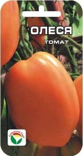 Семена Сибирский сад Томат. Олеся, 20 штBH-SI0439-WWСреднеранний сорт сибирской селекции для пленочных укрытий и теплиц. Растение высотой 1,5-2 м, формирует красивые кисти с 4-5 крупными оранжевыми плодами сливовидно-овальной формы, массой до 250-300 г. Томаты обладают сладким вкусом, по цвету и высокому содержанию каротина сок из плодов напоминает абрикосовый, полезен детям. Плоды очень плотные, прекрасно консервируются, хороши в летних салатах. Урожайность до 8-10 кг/м2. При высадке в грунт на 1 м2 размещают 3 растения. Формируется в 1-2 стебля с пасынкованием и подвязкой.