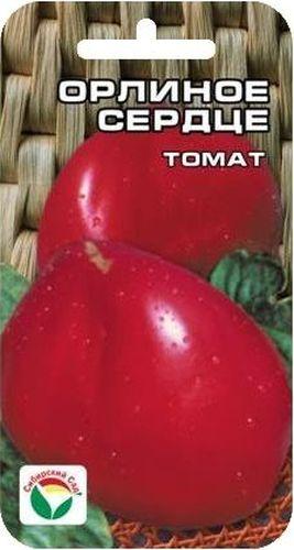 Семена Сибирский сад Томат. Орлиное сердце, 20 шт10503Среднеспелый, высокоурожайный, крупноплодный сорт любительской селекции. Достоинства сорта: плоды красивой вытянутой сердцевидной формы, розово-малинового окраса, с нежной сладкой мякотью. Плотные, не водянистые, устойчивые к растрескиванию. Куст среднерослый, мощный. Сорт устойчив к болезням и неблагоприятным погодным условиям. Выращивается в открытом грунте и пленочных укрытиях.Посев на рассаду производят за 50-60 дней до высадки растений на постоянное место. Оптимальная постоянная температура прорастания семян 23-25°С. При высадке в грунт на 1 м2 размещают 1-2 растения. Сорт хорошо реагирует на полив и подкормки комплексными минеральными удобрениями.Для ускорения процесса всхожести семян, оздоровления растений, улучшения завязываемости плодов рекомендуется пользоваться специально разработанными стимуляторами роста и развития растений.
