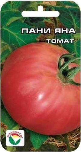 Семена Сибирский сад Томат. Пани Яна, 20 штBP-00000500Раннеспелый супердетерминантный сорт для открытого грунта и пленочных теплиц. Куст-малыш высотой до 50 см удивляет красивыми округлыми, неожиданно крупными розовыми плодами массой до 250 г. На растении формируется до 5 кистей высококачественных плодов. Томаты плотные, мясистые, аппетитные, не трескаются, прекрасно дозариваются. Мякоть сахаристая, вкусная. Сорт удобный, пасынкуется только до первой кисти. Назначение универсальное. Урожайность сорта до 5 кг с м2. Посев на рассаду производят за 50-60 дней до высадки растений на постоянное место. Оптимальная постоянная температура прорастания семян 23-25°С. При высадке в грунт на 1 м2 размещают 3-5 растений. Сорт хорошо реагирует на полив и подкормки комплексными минеральными удобрениями.
