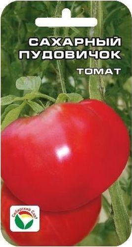Семена Сибирский сад Томат. Сахарный пудовичок, 20 штBH-SI0439-WWСреднеспелый сорт для открытого грунта с крупными плодами малинового цвета. Растение высотой до 1 м, плоды плоские, умеренно ребристые, мясистые и вкусные, массой 300-600 г. Разрезанный томат сахарится на изломе и почти не имеет семян. Рекомендуется для использования в свежем виде и домашней кулинарии. Урожайность 3-5 кг с 1 м2. Посев на рассаду производят за 50-60 дней до высадки растений на постоянное место. При высадке в грунт на 1 м2 размещают 3-5 растений. Сорт хорошо реагирует на полив и подкормки комплексными минеральными удобрениями. Выращивается с умеренным пасынкованием и подвязкой к опоре. Для ускорения процесса всхожести семян оздоровления растений, улучшения завязываемости плодов рекомендуется пользоваться специально разработанными стимуляторами роста и развития растений.