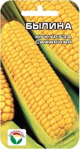 Семена Сибирский сад Кукуруза. БылинаSS 4041Раннеспелый среднерослый сорт алтайской селекции. Початки крупные. Масса початка в молочно-восковой спелости 200гр. В зерне содержатся углеводы, жиры, минеральные соли кальция, магния, железа, фосфора, а также витамины С, В1, В2, В5, РР, Е и провитамин А.