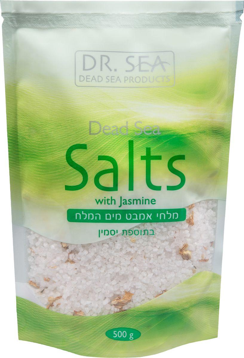 Dr. Sea Соль Мертвого Моря с жасмином, 500 гFS-36054Обогащена минералами Мертвого моря, питает и увлажняет кожу. Способствует регенерации, делает кожу более эластичной.Снимает усталость, улучшает общее состояние организма.Рекомендуется использовать для ванн