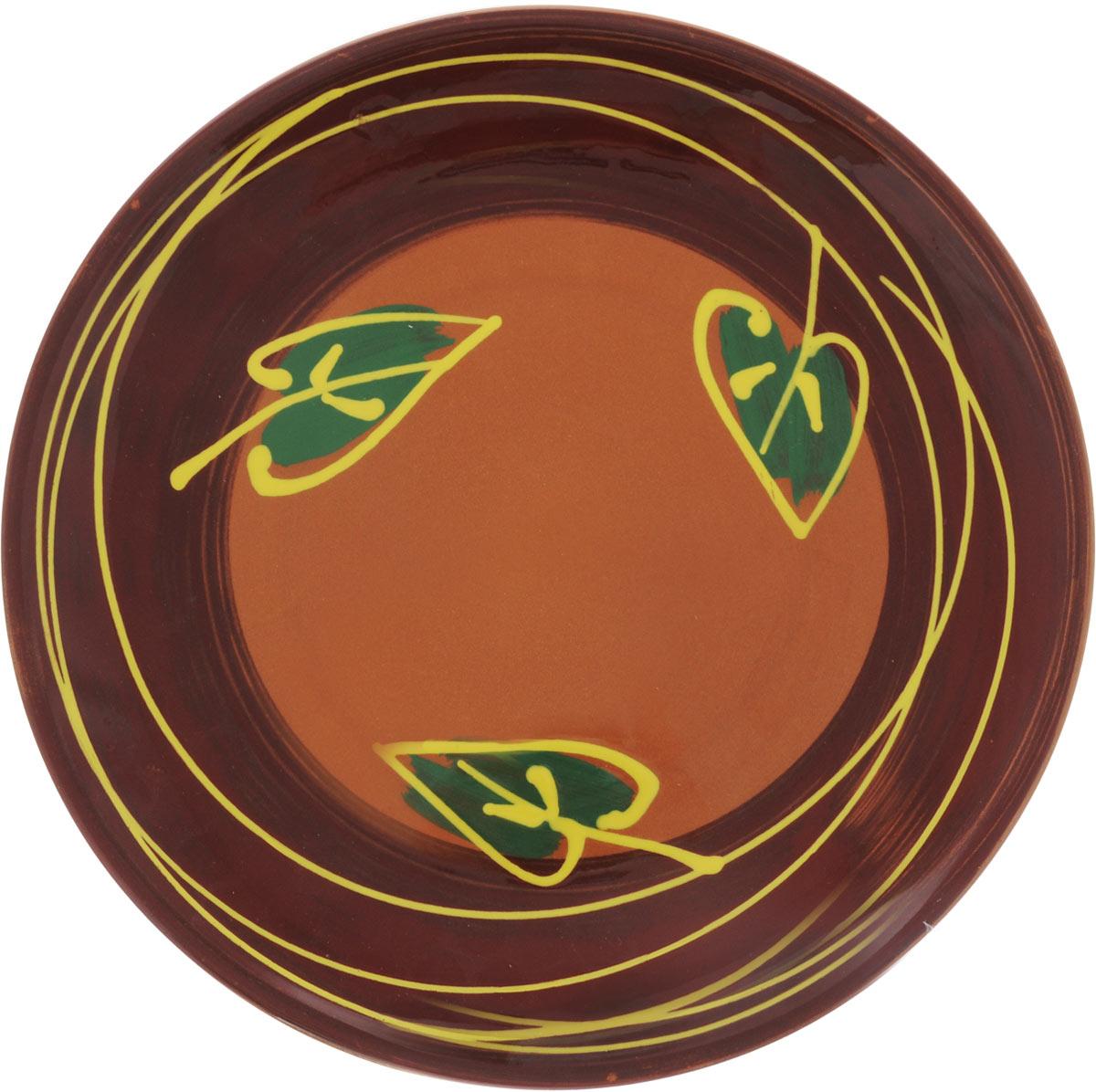 Тарелка Борисовская керамика Cтандарт, диаметр 22,5 см115510Тарелка Борисовская керамика Cтандарт выполнена из высококачественной керамики с покрытием пищевой глазурью. Изделие отлично подходит для подачи вторых блюд, сервировки нарезок, закусок, овощей и фруктов. Такая тарелка отлично подойдет для повседневного использования. Она прекрасно впишется в интерьер вашей кухни. Посуда термостойкая, можно использовать в духовке и в микроволновой печи. Диаметр тарелки (по верхнему краю): 22,5 см. Высота стенки: 2,5 см.