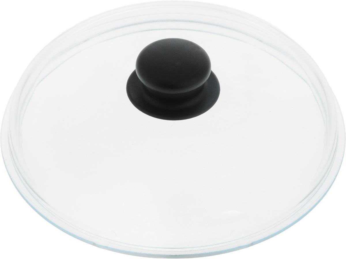 Крышка VGP. Диаметр 22 см54 009312Жаропрочная крышка VGP, выполненная из закаленного термостойкого стекла, оснащена удобной пластиковой ручкой, которая не скользит в руке и остается холодной во время приготовления блюд. Подходит для кастрюль, сотейников и сковород. Прозрачная крышка позволяет полностью контролировать процесс приготовления без потери тепла, а паровыпускной клапан исключает риск ожогов и избыточного давления под крышкой.Можно мыть в посудомоечной машине.