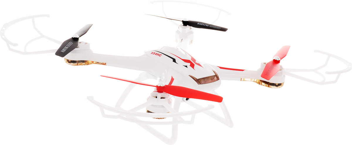 Syma Квадрокоптер на радиоуправлении X54HC цвет белый