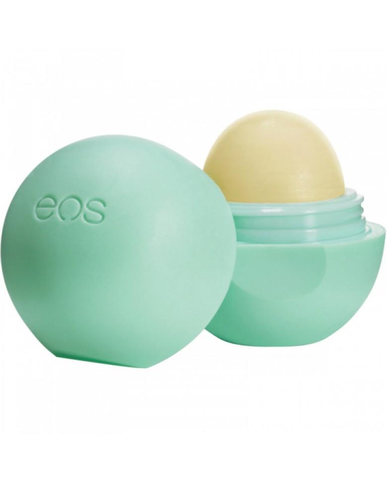 Бальзам для губ Eos Sweet Mint , 7г.AC-2233_серыйПолностью натуральный, на 95% органический бальзам для губ со вкусом сладкой мяты в футляре из пластика (упакован в термоусадочную пленку). Не содержит парабенов, глютена и продуктов нефтехимии. Применяется в косметических целях для увлажнения и питания губ.