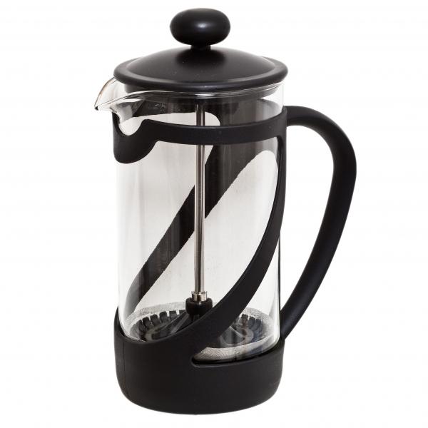 Френч-пресс Attribute Basic, 350 млATT350Френч-пресс Attribute Basic позволит быстро и просто приготовить свежий и ароматный кофе иличай. Френч-пресс изготовлен извысокотехнологичных материалов на современном оборудовании:- корпус изготовлен из высококачественного жаропрочного стекла, устойчивого к окрашиванию ицарапинам;- фильтр-поршень из нержавеющей стали выполнен по технологии press-up для обеспеченияравномерной циркуляции воды;- подставка из пластика препятствует скольжению френч-пресса.Практичный и стильный дизайн френч-пресса Attribute Basic полностью соответствуетпоследним модным тенденциям в создании предметов бытового назначения.