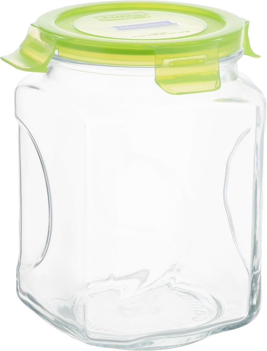 Банка для сыпучих продуктов Glasslock, 2 лVT-1520(SR)Банка Glasslock, выполненная из стекла, отлично подойдет для хранения сыпучих продуктов. Крышка из полипропилена с силиконовым вкладышем плотно закрывается с помощью зажимов, дольше сохраняя свежесть продуктов. Изделие устойчиво к внешним воздействиям, не пропускает влагу, пыль и запахи. Такая банка стильно дополнит интерьер и поможет дольше хранить продукты. Диаметр банки (по верхнему краю): 10,5 см. Высота банки (без учета крышки): 18 см.