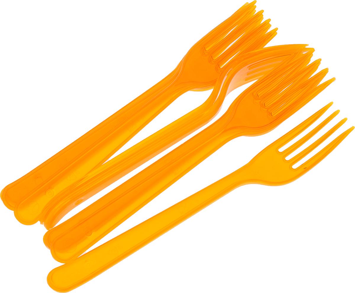 Набор пластиковых вилок Buffet, цвет: оранжевый, 10 шт183230я/_оранжевыйВилки Buffet выполнены из высококачественного полистирола. Приборы предназначены для одноразового использования.Они будут незаменимы при поездках на природу, пикниках и других мероприятиях. Такие вилки не займут много места, легки и самое главное - после использования их не надо мыть.Длина вилки: 18 см.Размер рабочей части: 2,5 х 4,5 см.Количество вилок: 10 шт.