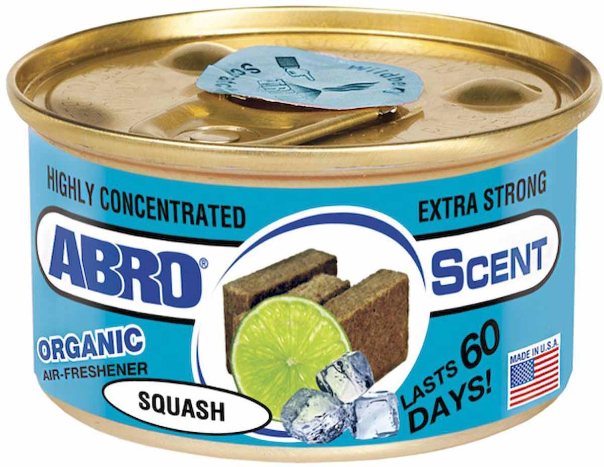 Освежитель воздуха Abro Органик, морской сквош цемент глушителя abro