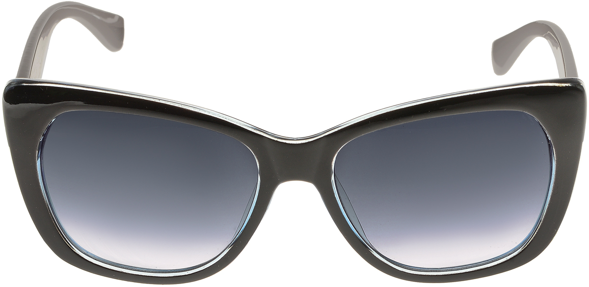 Очки солнцезащитные женские Vittorio Richi, цвет: черный, серый. ОС5092с80-47-15/17fBM8434-58AEСолнцезащитные очки Vittorio Richi выполнены из высококачественного пластика. Пластик используемый при изготовлении линз не искажает изображение, не подвержен нагреванию и вредному воздействию солнечных лучей. Оправа очков легкая, прилегающей формы и поэтому обеспечивает максимальный комфорт. Такие очки защитят глаза от ультрафиолетовых лучей, подчеркнут вашу индивидуальность и сделают ваш образ завершенным.