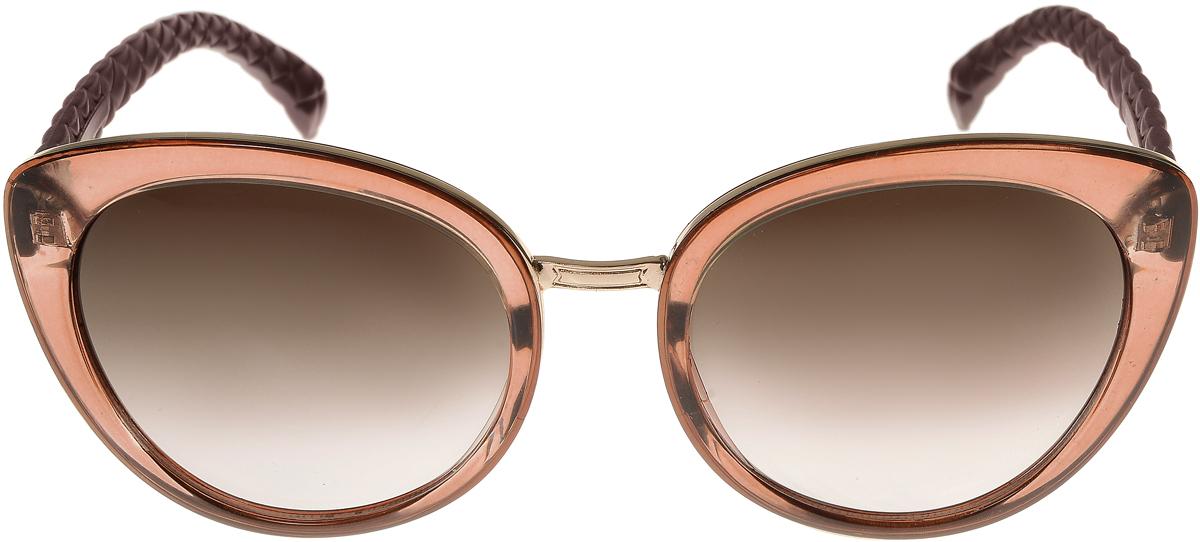 Очки солнцезащитные женские Vittorio Richi, цвет: коричневый, золотой. OC2071с82-23-9/17fBM8434-58AEОчки солнцезащитные Vittorio Richi это знаменитое итальянское качество и традицыонно изысканный дизайн.