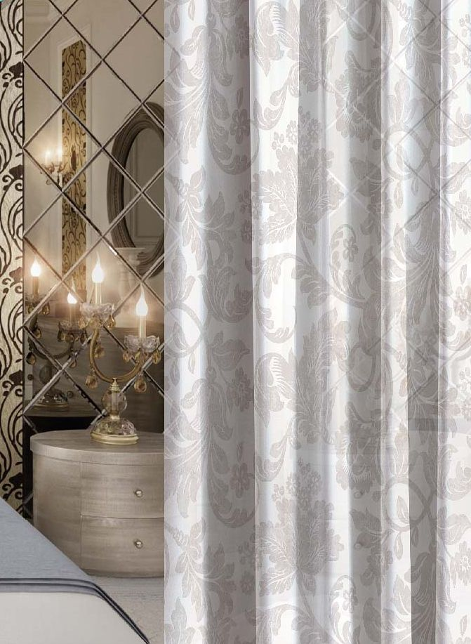 Комплект штор Волшебная ночь Frizzy, на ленте, высота 270 см, 2 шт1004900000360Шторы коллекции Волшебная ночь - это готовое решение для Вашего интерьера, гарантирующее красоту, удобство и индивидуальный стиль! Шторы изготовлены из тонкой и легкой ткани ВУАЛЬ, которая почти не препятствует прохождению света, но защищает комнату от посторонних взглядов. Длина штор регулируется с помощью клеевой паутинки (в комплекте). Изделия крепятся на вшитую шторную ленту: на крючки или путем продевания на карниз. Дизайнеры Марки предлагают уже сформированные комплекты штор из различных тканей и рисунков для создания идеальной композиции на окне. Для удобства выбора дизайны штор распределены в стилевые коллекции: ЭТНО, ВЕРСАЛЬ, ЛОФТ, ПРОВАНС. В коллекции Волшебная ночь к данной шторе Вы также сможете подобрать шторы из других тканей: БЛЭКАУТ (100% затемненение), сатен и ГАБАРДИН (частичное затемнение), которые будут прекрасно сочетаться по дизайну и обеспечат особый уют Вашему дому.