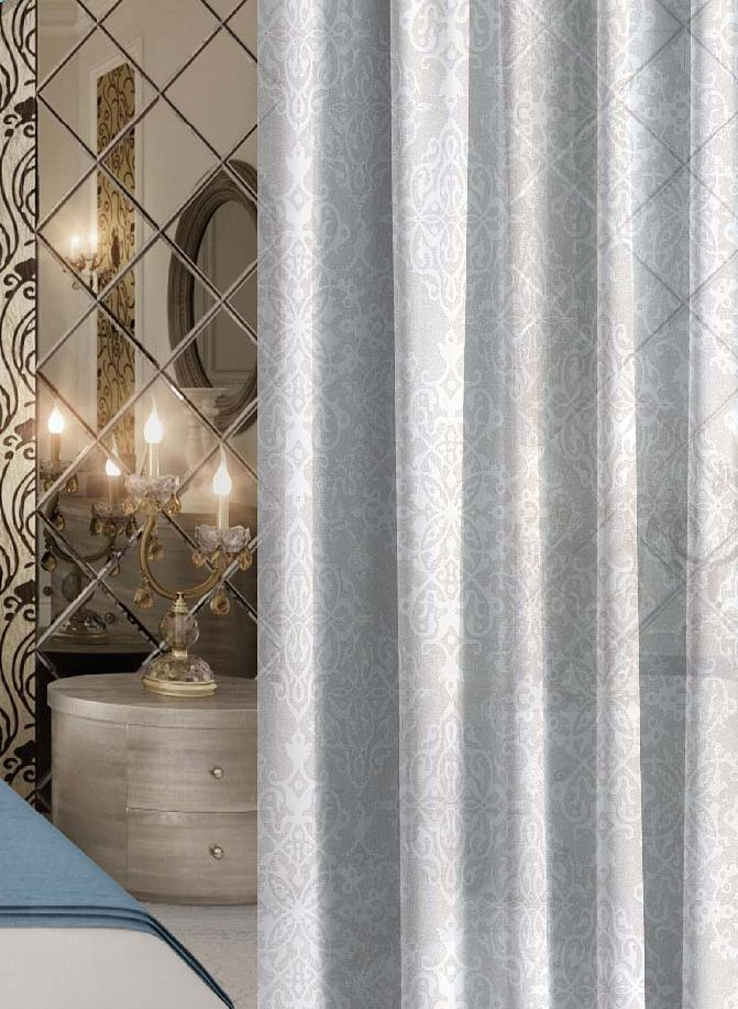Комплект штор Волшебная ночь Overseas, на ленте, высота 270 см, 2 штSVC-300Шторы коллекции Волшебная ночь - это готовое решение для Вашего интерьера, гарантирующее красоту, удобство и индивидуальный стиль! Шторы изготовлены из тонкой и легкой ткани ВУАЛЬ, которая почти не препятствует прохождению света, но защищает комнату от посторонних взглядов. Длина штор регулируется с помощью клеевой паутинки (в комплекте). Изделия крепятся на вшитую шторную ленту: на крючки или путем продевания на карниз. Дизайнеры Марки предлагают уже сформированные комплекты штор из различных тканей и рисунков для создания идеальной композиции на окне. Для удобства выбора дизайны штор распределены в стилевые коллекции: ЭТНО, ВЕРСАЛЬ, ЛОФТ, ПРОВАНС. В коллекции Волшебная ночь к данной шторе Вы также сможете подобрать шторы из других тканей: БЛЭКАУТ (100% затемненение), сатен и ГАБАРДИН (частичное затемнение), которые будут прекрасно сочетаться по дизайну и обеспечат особый уют Вашему дому.